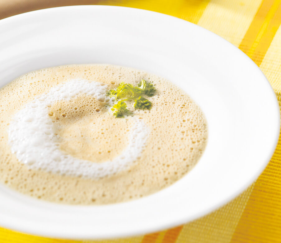 Maroni-Buttermilchsuppe