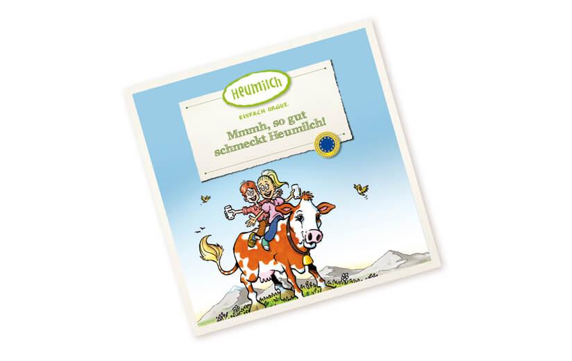 """Kinderbuch """"Mmmh, so gut schmeckt Heumilch!"""""""