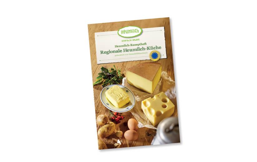 """Rezeptheft """"Regionale Heumilch-Küche"""""""