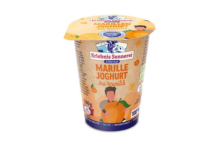 Zillertaler Marillenjoghurt
