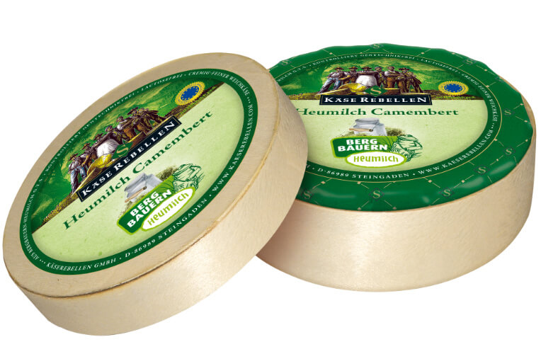 Heumilch Camembert