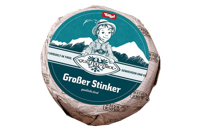 Wilder Käser Großer Stinker