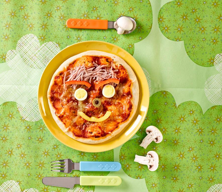 Pizzagesicht