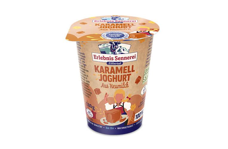 Zillertaler Karamelljoghurt