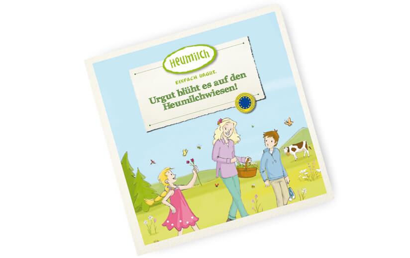 """Kinderbuch """"Urgut blüht es auf den Heumilchwiesen!"""""""