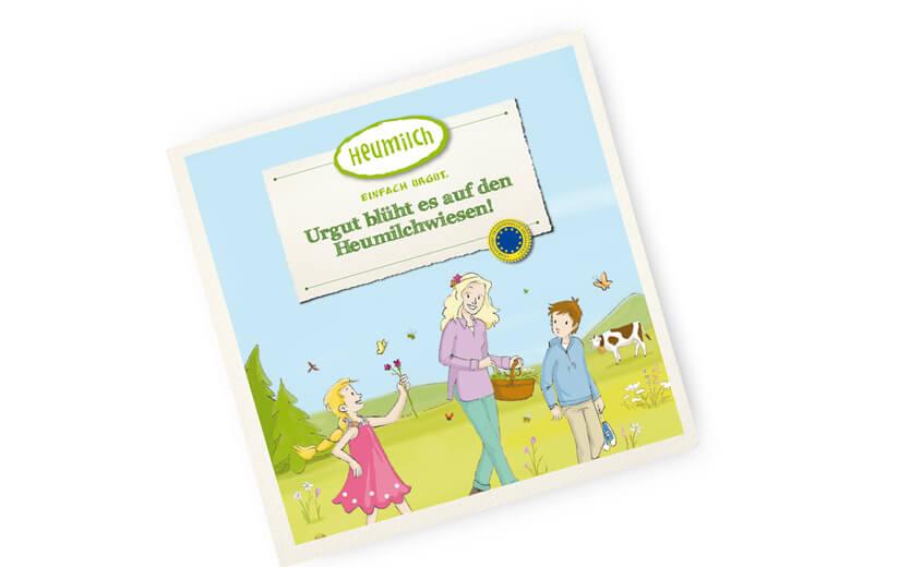 Einfach urgut: neues Heumilch-Kinderbuch