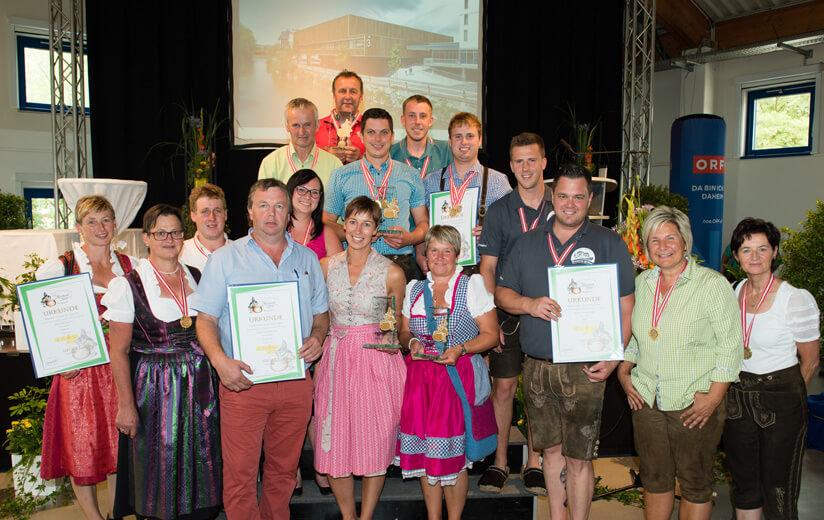 Medaillenregen für Heumilch-Betriebe