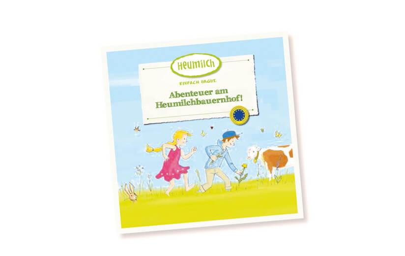 """Kinderbuch """"Abenteuer am Heumilchbauernhof!"""""""