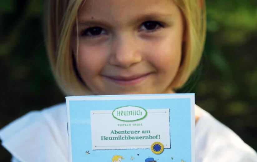 """Neues Heumilch-Kinderbuch: """"Abenteuer am Heumilchbauernhof"""""""