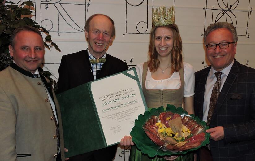 Bio-Heu-Region Trumer Seenland mit Leopold-Kohr-Preis geehrt