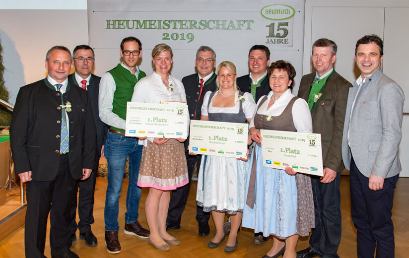 Österreichs beste Heuproduzenten ausgezeichnet