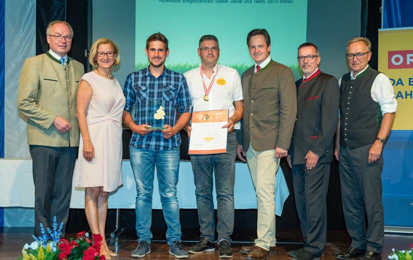 Großer Erfolg für Heumilch-Betriebe in Wieselburg
