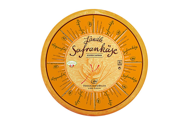 Ländle Safrankäse