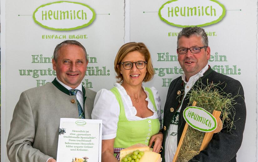 Start der Kooperation mit Heumilchbauern aus Deutschland
