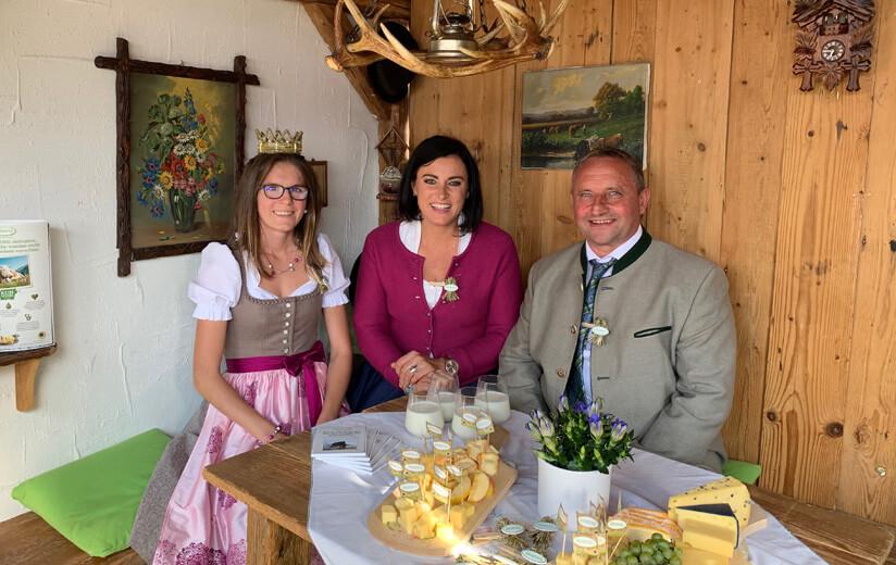 Heumilch-Alm begeistert beim 19. Wiener Erntedankfest