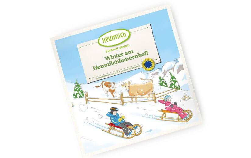 """Neues Kinderbuch: """"Winter am Heumilchbauernhof"""""""