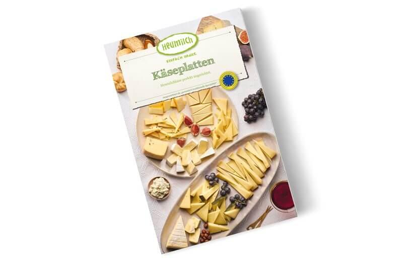 Neues Rezeptheft: Anrichten von Käseplatten leicht gemacht!