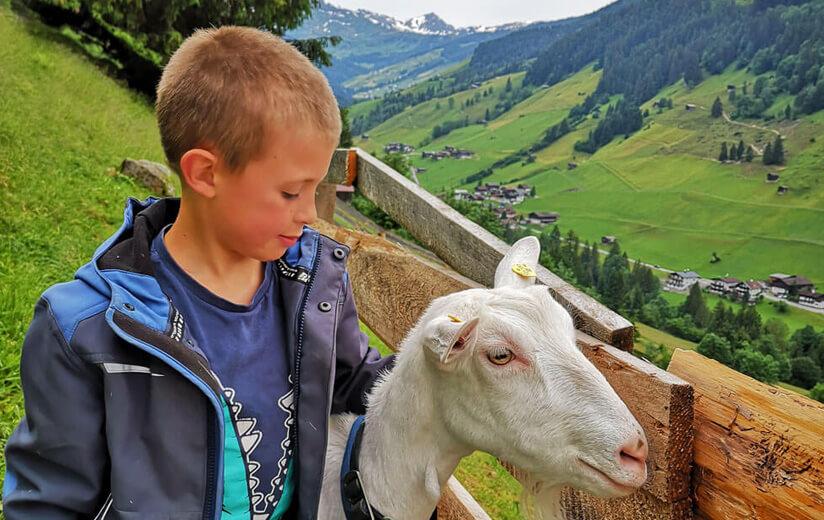 """Kind sein am Heumilchbauernhof: """"Meine Alexa ist eine Ziege"""""""