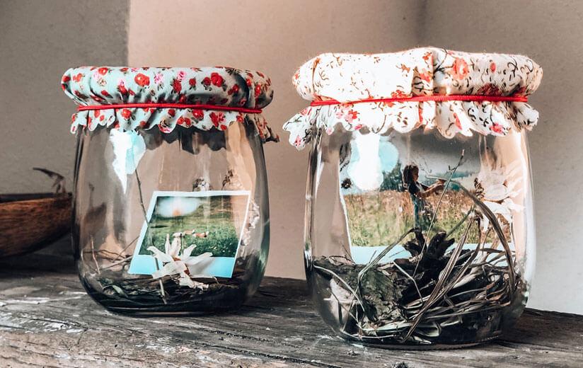 Erinnerungen festhalten: Packe deinen urguten Sommer in ein Heumlich-Memory-Jar