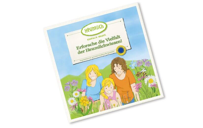 Neues Heumilch-Kinderbuch