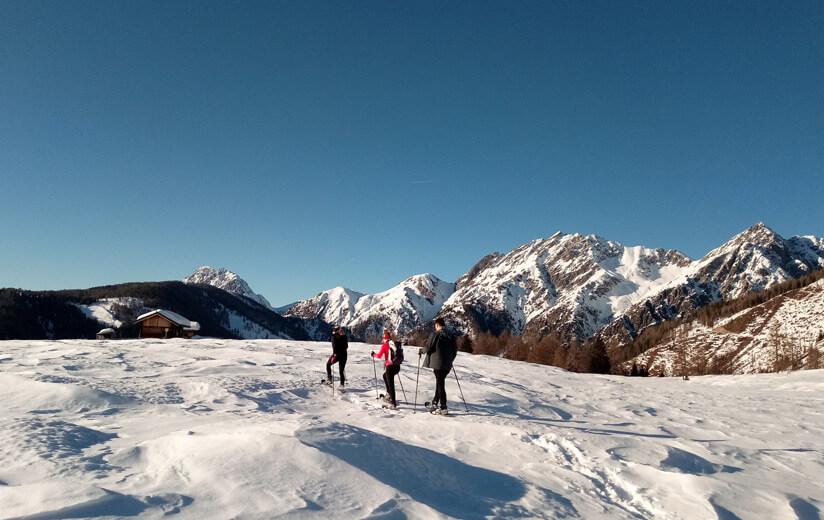 Heumilch Winteraktiv #2: Leichte Skitour im verschneiten Lesachtal