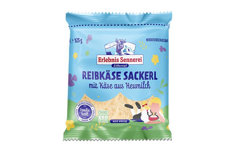 Zillertaler Reibkäse Sackerl