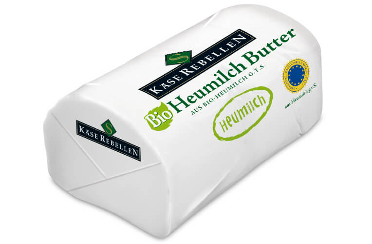 Bio Heumilch Butter