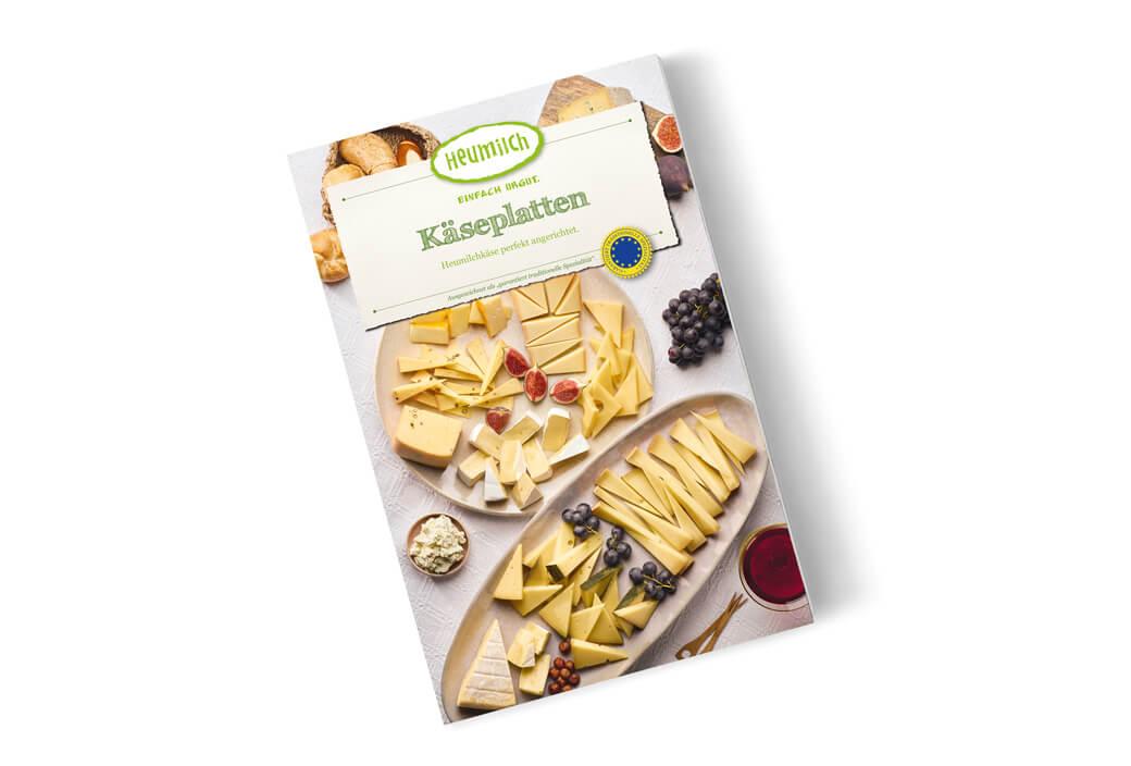 Käseplatten-Rezeptheft