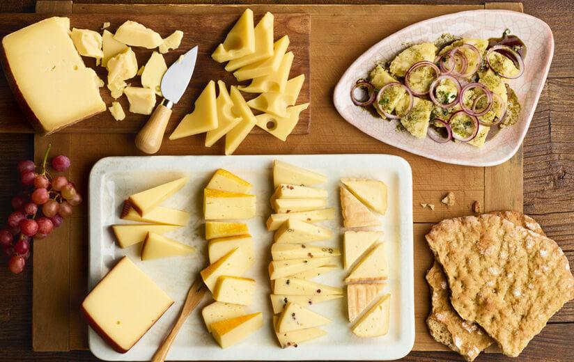 #5: Käseplatten: Richtig schneiden und anrichten