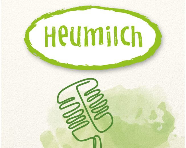 """Heumilch zum Hören – ARGE Heumilch launcht Podcast """"Heugeflüster"""""""