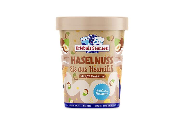 Zillertaler Haselnuss-Eis