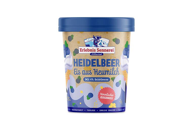 Zillertaler Heidelbeer-Eis