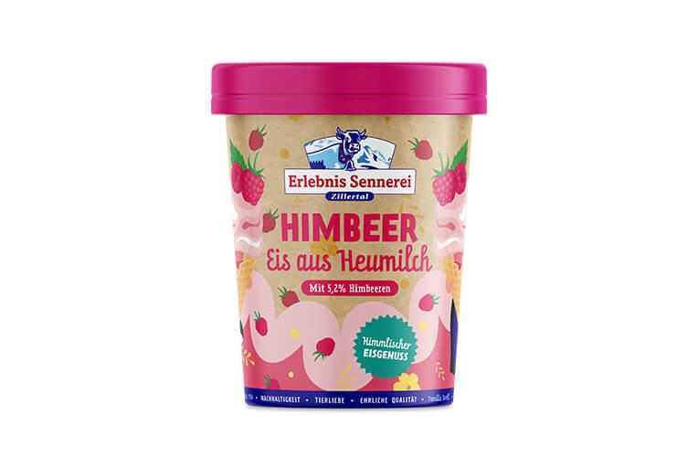 Zillertaler Himbeer-Eis