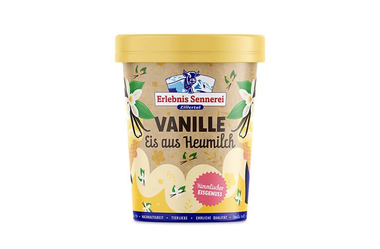Zillertaler Vanille-Eis