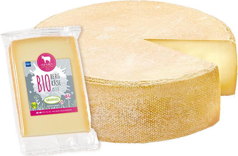Allgäuer Hof-Milch – Bio Bergkäse mild