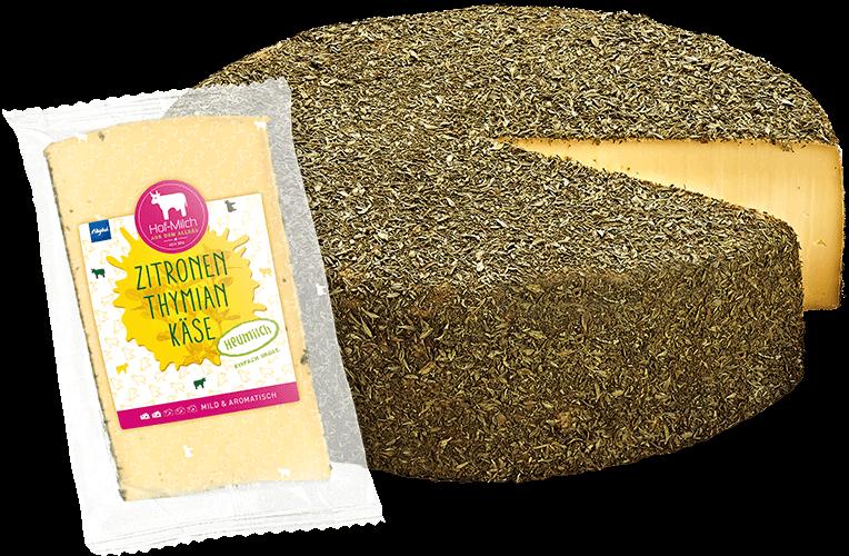 Allgäuer Hof-Milch – Zitronenthymiankäse