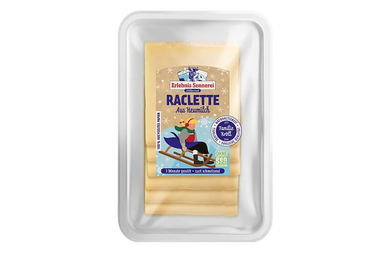 Zillertaler Raclette Scheiben